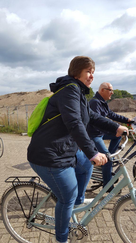 corona proof fietstocht Ieder zijn vak