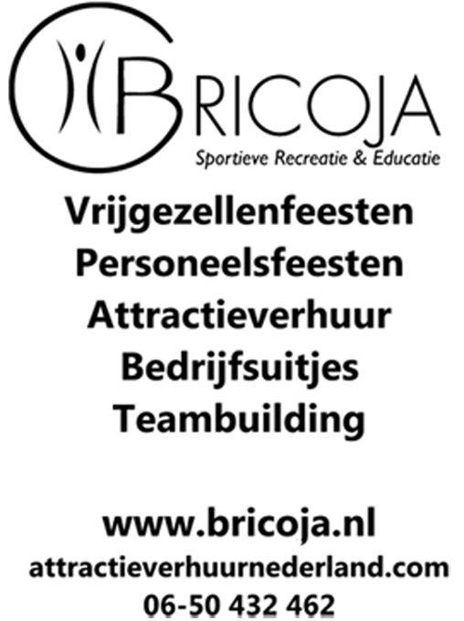 Personeelsfeesten, bedrijfsuitjes, teambuilding, attractieverhuur en events